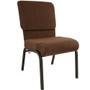 Advantage Java Church Chair 20.5 in. Wide [PCHT-106]