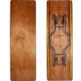 Advantage 8 ft. (30x96) Wood Folding Banquet Table - Rectangular [FTPW-3096]