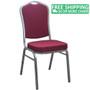 Advantage Burgundy Banquet Chair - Crown Back [CBBC-102]