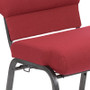 Advantage Burgundy Church Chair 20.5 in. Wide [PCHT-100WJ]