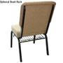 Advantage Mixed Tan / Beige Church Chair 20.5 in. Wide [PCHT-105]