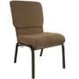 Advantage Jute Church Chair 20.5 in. Wide [PCHT-112]
