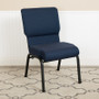 Advantage 20.5 in. Cobalt Molded Foam Church Chair [PCCF-118]