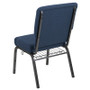 Advantage 20.5 in. Navy Molded Foam Church Chair [PCCF-101]