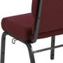 Advantage 20.5 in. Maroon Molded Foam Church Chair [PCCF-104]