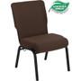 Advantage 20.5 in. Java Molded Foam Church Chair [PCCF-106]