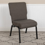Advantage 20.5 in. Fossil Molded Foam Church Chair [PCCF-113]