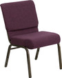"""Advantage Basic 21"""" Church Chair"""
