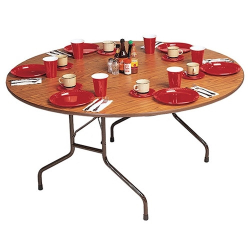 correll cf48p 4 ft round folding tables for sale at advantage church chairs. Black Bedroom Furniture Sets. Home Design Ideas