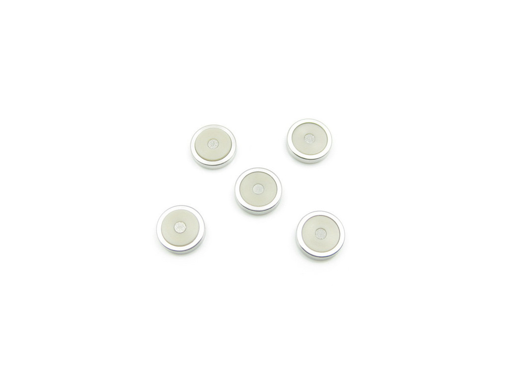 2 micron Titanium Frit, In-line & Direct Connect HPLC/UHPLC Precolumn Filter Replacement Filters, Pack of 5