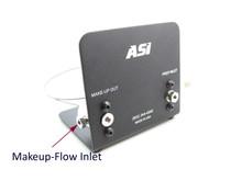 Custom Prep Inlet Flow and Split Ratio, Fixed Makeup-Flow Splitter