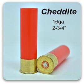 """Cheddite 16 ga 2 3/4"""" hulls - 16 mm"""