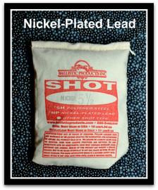 Nickel-Plated Lead Shot
