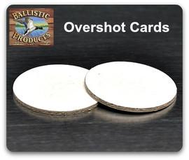 Overshot Cards   (all gauges)