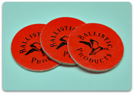 BP Logo Red Overshot Cards  12 ga  (500/bag)