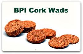 "Cork Wad  12ga   1/4""     (250/bag)"