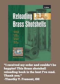 Reloading Brass Shotshells Manual
