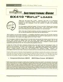 BP Brochure: .410 Bore Rifle Loads