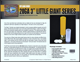 "BP Brochure: LIttle Giant  20ga  3"" lead loads"