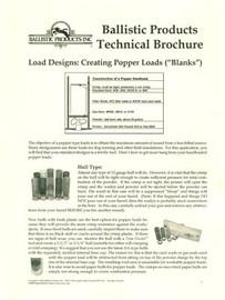 BP Brochure:  Popper Loads