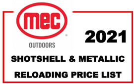 MEC Shotshell & Metallic 2021 Price List