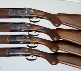 F.A.I.R. Jubilee Prestige Tartaruga Gold o/u shotgun                                                          (20-16-410)