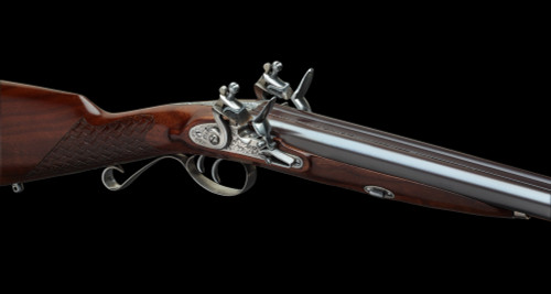 Pedersoli sxs Flintlock Shotgun Deluxe  (20 ga)