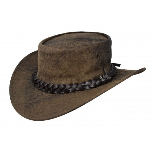 Australian Kangaroo Wild Roo Stonewash Hat _ IN STOCK (XXL)