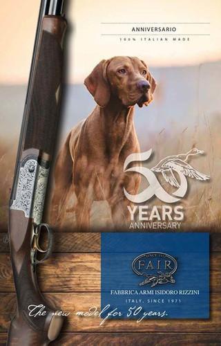 F.A.I.R. 50th Anniversario o/u shotgun (all gauges)