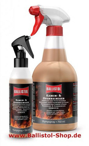 Ballistol Kamofix Fireplace & Stove Cleaner