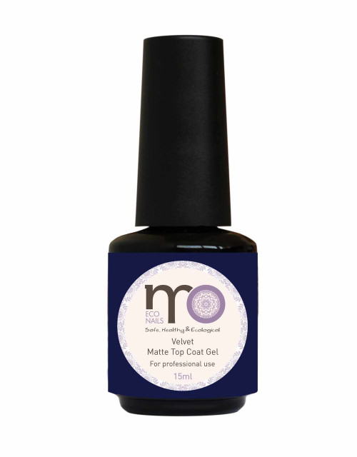 MO Nails Velvet Matte Top Coat Gel 15ml