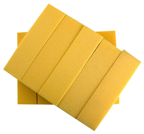Easy to use Buff on both finger and toe nails, Suitable for professional or home use, Can be used on natural nails or nail extensions, 4 sided, Soft course grits, High quality buffing blocks, Comes in various colors.