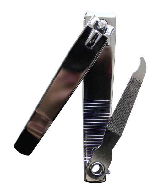 Large Toe Nail Clipper with curved blade.
