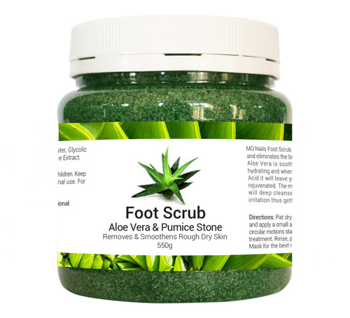 MO Nails Foot Scrub
