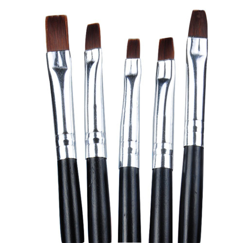 MO Nails Gel Brushes (Set of 5)