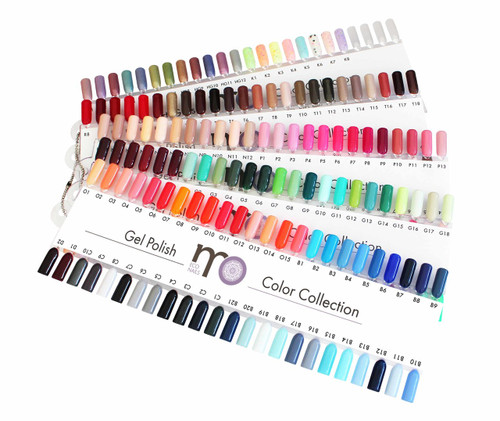 MO Nails Gel Polish Collection
