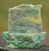 Beach Comber Goat Milk Soap Slice
