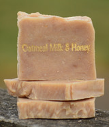 Oatmeal Milk & Honey Goat Milk Soap Slice