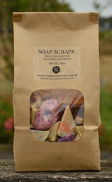 1lb Bag of Soap Scraps -  An assortment of different fragrances in each bag from our Classic & Soap Slice line.