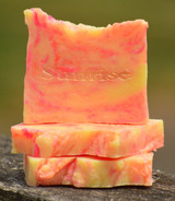 Sunrise Goat Milk Soap Slice