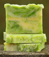 Journey to Ireland Goat Milk Soap Slice