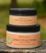 Apricots & Cream Goat Milk Hand & Body Cream *Limited Edition*
