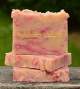 Raspberry Whimsy Soap Slice