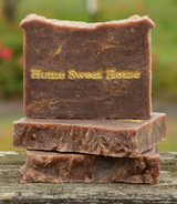 Home Sweet Home Goat Milk Soap Slice
