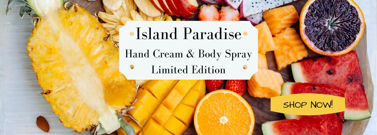 Island Paradise goat nilk hand cream a lotion sale