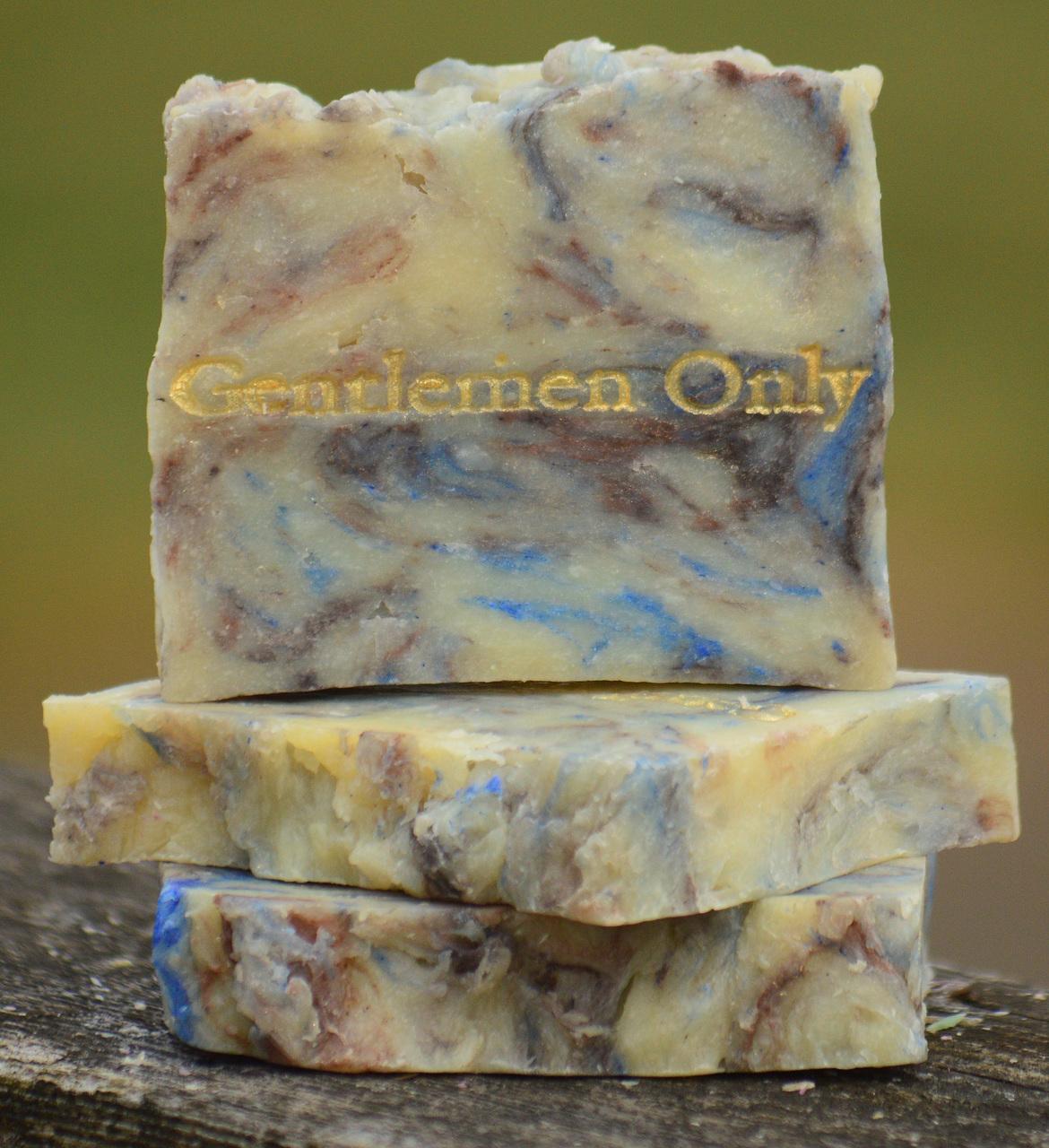Gentleman Only Goat Milk Soap Slice