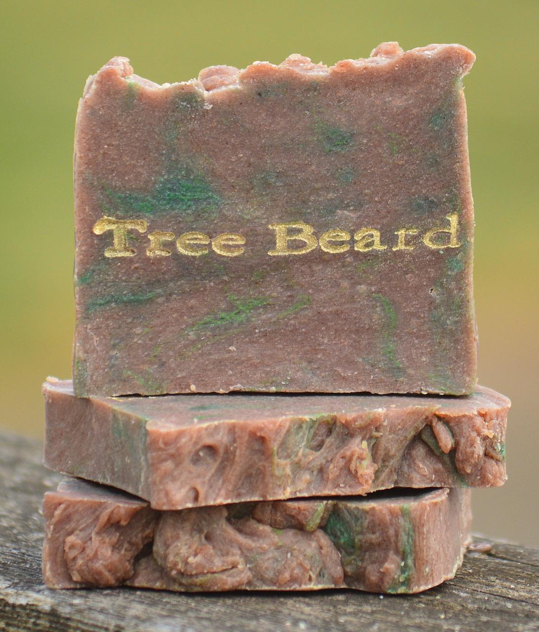 Tree Beard Goat Milk Soap Slice