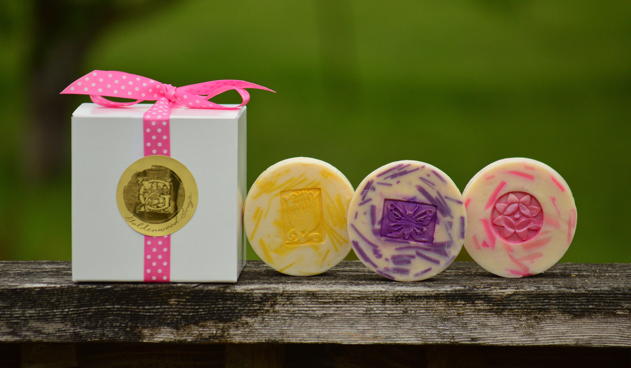 Fresh Floral Collection - Southern Gardenia Classic Goat Milk Soap, Wild Honeysuckle Classic Goat Milk Soap, Lilac Bouquet Classic Goat Milk Soap