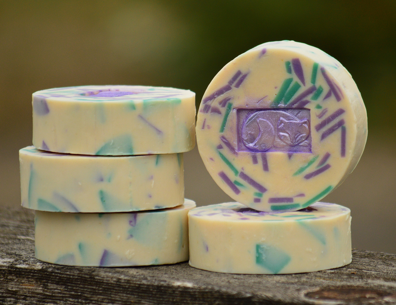 English Lavender & Mint Classic Goat Milk Soap