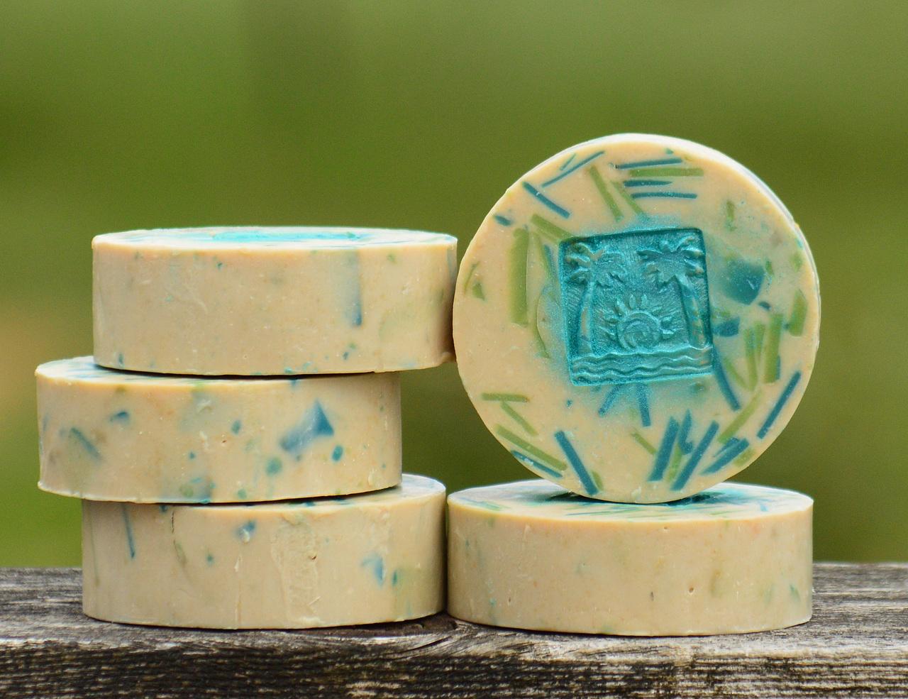 Caribbean Coconut Classic Goat Milk Soap